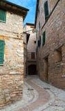 Vieille ville de Spello en Ombrie Photos libres de droits