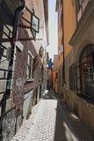 Vieille ville de Stockholm (Gamla Stan) Images libres de droits