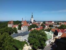 Vieille ville de Tallinn Photo stock