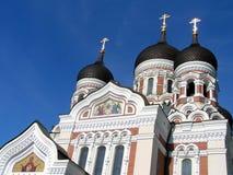 Vieille ville de Tallinn, Estonie Images libres de droits