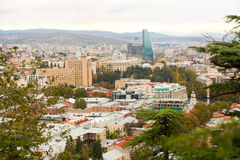 Vieille ville de Tbilisi Photo stock