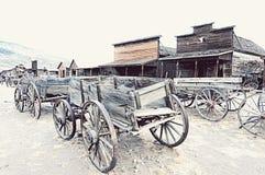 Vieille ville de traînée, Cody, Wyoming Photos libres de droits