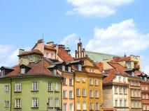 Vieille ville de Varsovie Image libre de droits