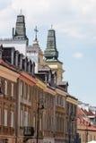 Vieille ville de Varsovie en Pologne Images libres de droits