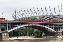Vieille ville de Varsovie en Pologne Photos stock