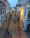 Vieille ville de Vilnius Photo libre de droits