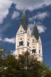 Vieille ville de Weiden, Allemagne Photos stock