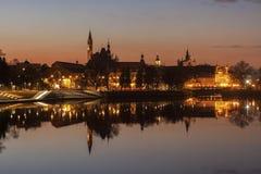 Vieille ville de Wroclaw photos libres de droits