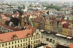 Vieille ville de Wroclaw en Pologne photographie stock libre de droits