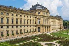 Vieille ville de Wurtzbourg, un site de patrimoine mondial de l'UNESCO photos libres de droits
