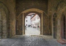 Vieille ville de Wurtzbourg, un site de patrimoine mondial de l'UNESCO photographie stock libre de droits