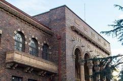 Vieille ville du bâtiment de conseil de Footscray Images stock