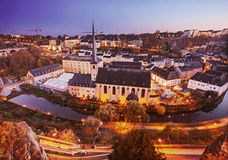 Vieille ville du luxembourgeois Images stock