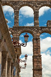 Vieille ville en Espagne Photographie stock libre de droits