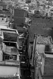 Vieille ville en Sicile Photographie stock