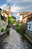 Vieille ville ?eský Krumlov République Tchèque Photos stock
