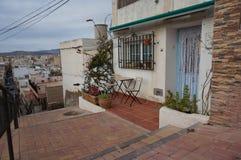 Vieille ville espagnole image stock