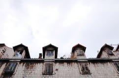Vieille ville fendue du ` s, FENTE, CROATIE image libre de droits