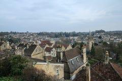 Vieille ville gentille Bradford sur Avon au Royaume-Uni image stock
