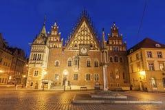 Vieille ville hôtel sur la place du marché à Wroclaw images stock
