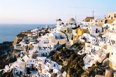 Vieille ville Ia sur Santorini photographie stock libre de droits