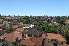 Vieille ville - Kaleici - à Antalya, Turquie Photo stock