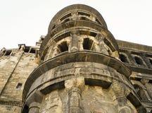 Vieille ville la Moselle de Trier de nigra de Porta de bâtiment romain Images stock