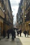 Vieille ville médiévale du ¡ n de San Sebastià Nature de voyage d'architecture images stock