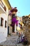 Vieille ville Marmaris La Turquie Photo stock