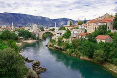 Vieille ville Mostar Images stock