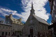Vieille ville Québec photo stock