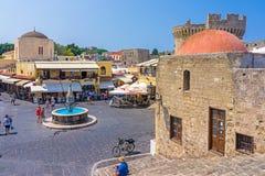 Vieille ville Rhodes Greece Image stock