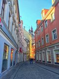 Vieille ville Riga photographie stock libre de droits