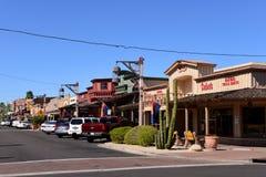 Vieille ville, Scottsdale, Arizona images libres de droits