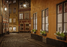 Vieille ville, Stockholm sweden Photographie stock