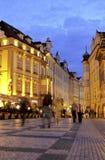 vieille ville tchèque de grand dos de république de Prague photographie stock