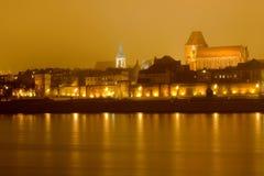 Vieille ville, Torun image libre de droits