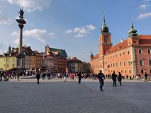 Vieille ville ? Varsovie photographie stock