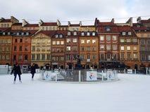 vieille ville Varsovie de la Pologne images libres de droits