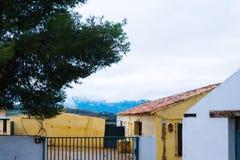Vieille ville, village blanc Ronda, Andalousie, Espagne images libres de droits