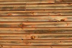 Vieille voie de garage en bois Photographie stock