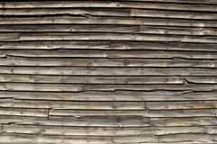 Vieille voie de garage en bois Image stock