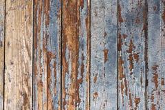 Vieille voie de garage en bois de conseil Image libre de droits
