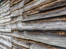 Vieille voie de garage en bois de grange Images libres de droits