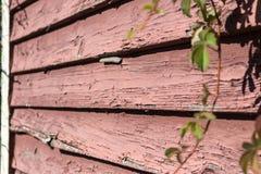 Vieille voie de garage superficielle par les agents Images stock