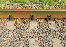 Vieille voie ferrée Images stock