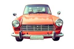 Vieille voiture colorée d'isolement image libre de droits