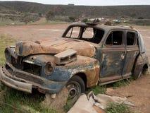 Vieille voiture dans Ensenada, Baja, la Californie, Mexique Images libres de droits