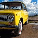 Vieille voiture de Lada de Soviétique Images libres de droits