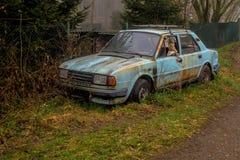 Vieille voiture de Skoda Photographie stock